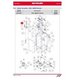 ARANDELA ELASTICA PARA M12 ACERO INOX. A2 DIN 127
