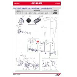 TORNILLO CON ARANDELA M6x16 ACERO INOX. A2 TORX 30 (ISO 7380F)
